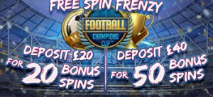 Free Spin Frenzy Football